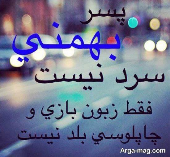 نمونه های خارق العاده و ناب از عکس نوشته بهمن ماه