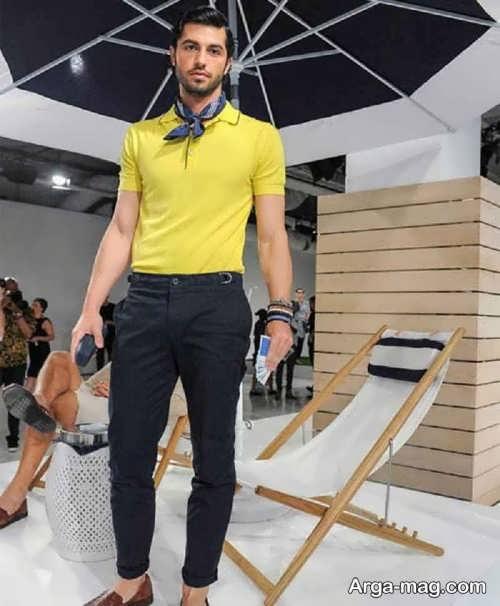 ست لباس رنگ زرد برای تیپ های اسپرت، مجلسی و روزمره