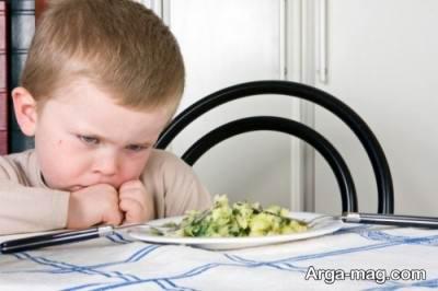درمان بد غذایی کودک