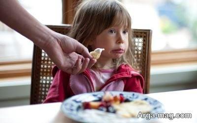 غذا نخوردن کودک