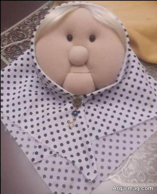 تعلیم و یاد دادن ساخت عروسک مادر سرما