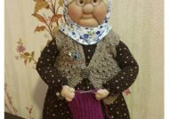 آموزش ساده و شيرين ساخت عروسک ننه سرما