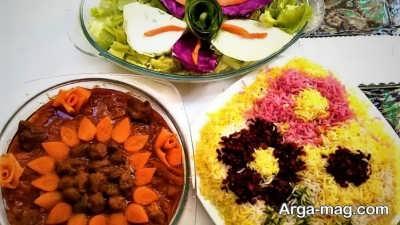 منوی غذایی تبریزی برای آخر هفته