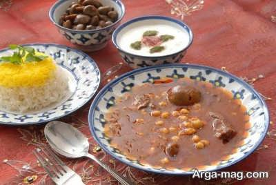 پیشنهاد آشپزی با منوی یزدی