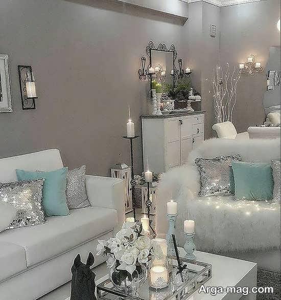 مجموعه ای دوست داشتنی از جهیزیه عروس سپید زیبا