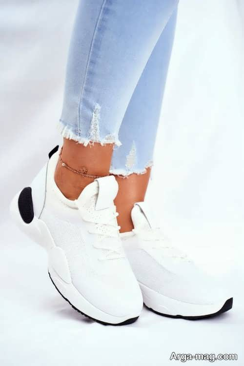 کفش سفید زنانه