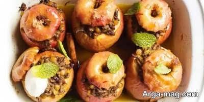 طرز تهیه دلمه سیب در منزل
