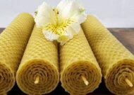 آموزش شمع سازی از ورقه هاي موم عسل در اندازه هاي گوناگون