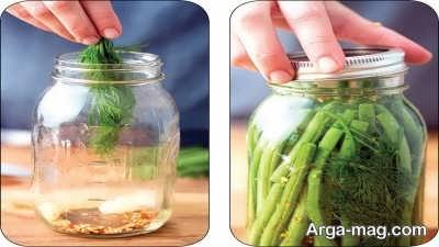 روش تهیه شور لوبیا سبز