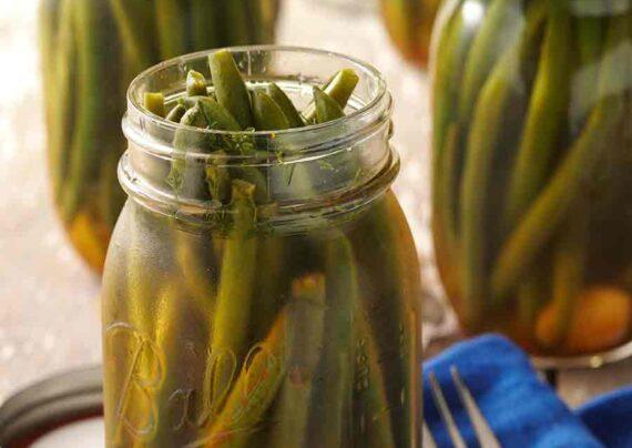 طرز تهیه شور لوبیا سبز