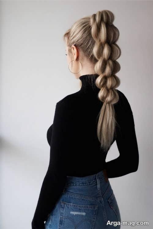 بافت موی دخترانه 2021