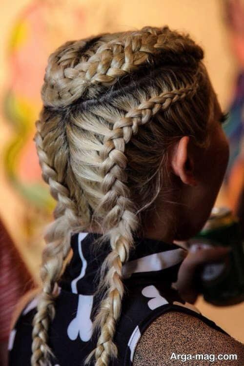 بافت مو زیبا و خاص زنانه
