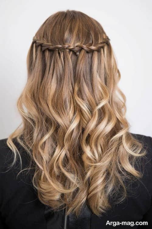 بافت مو زیبا