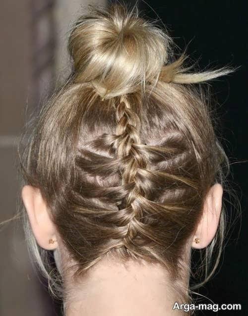 بافت موی زیبا زنانه
