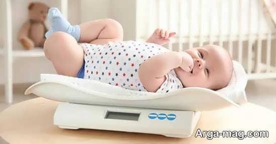 علل کم شدن وزن نوزاد