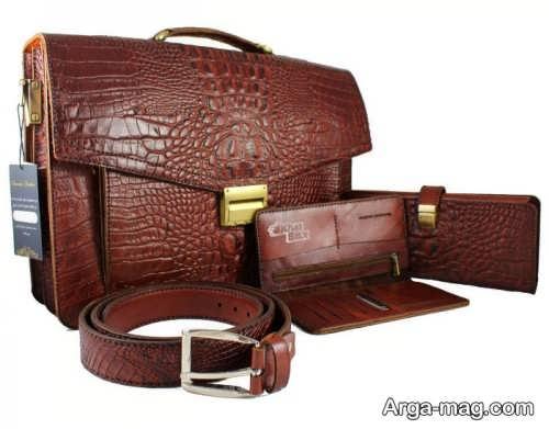 ست کیف و کمربند زیبا و جدید