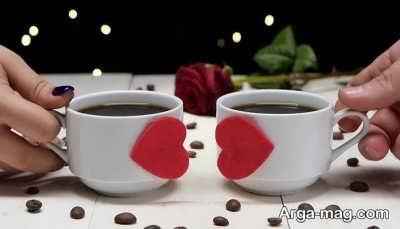 متن احساسی در مورد قهوه
