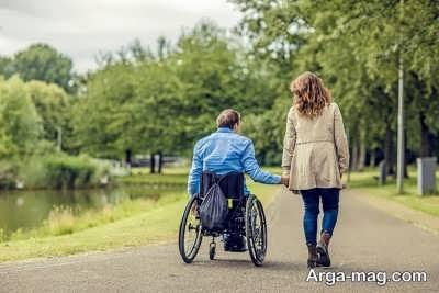 جملاتی برای معلولین