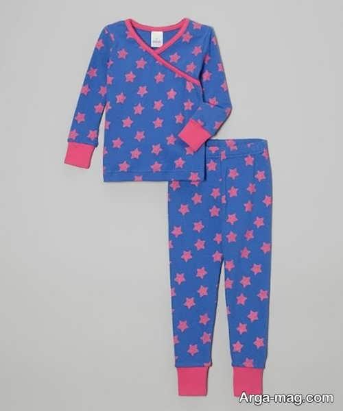 لباس خواب کودک طرح دار