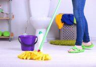 نحوه صحیح تمیز کردن سرویس بهداشتی