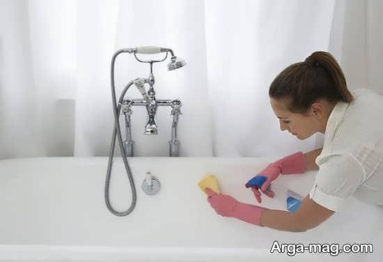 شیوه های موثر تمیز نمودن سرویس بهداشتی