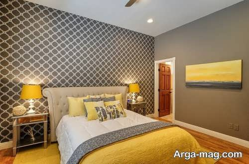 دیزاین داخلی اتاق خواب با رنگ سال 2021