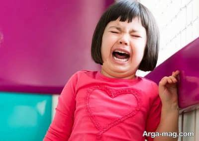 مقابله با گریه بچه ها