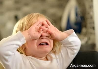 راه برخورد با گریه کودکان
