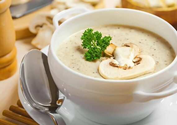ایده هایی زیبا و شیک از تزیین سوپ جو