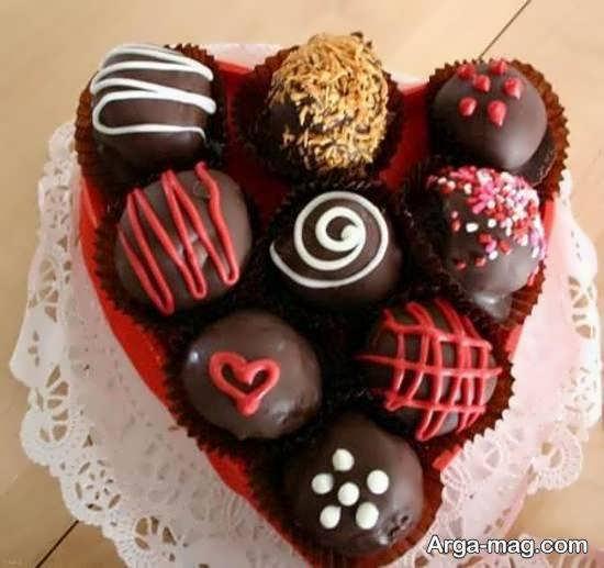 مجموعه ای ایده آل و لاکچری از تزیین شکلات