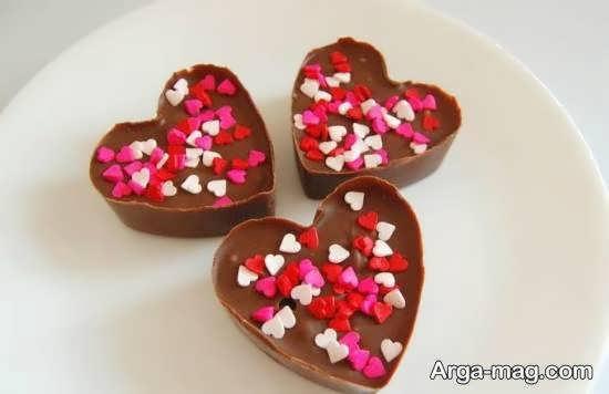 تزیینات شکلات با استفاده از طراحی های جدید و جذاب