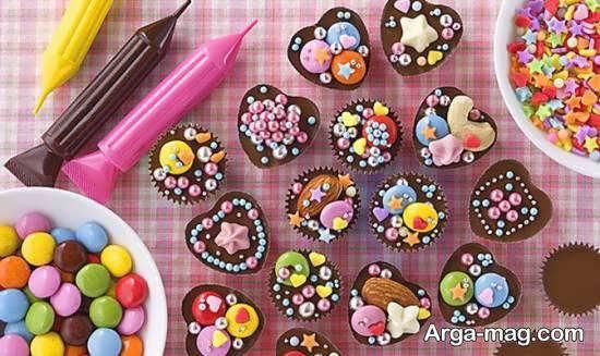 انواع ایده های زیبا و شیک طراحی شکلات