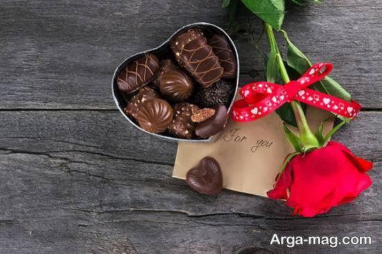 گالری جذابی از ایده های تزیین شکلات