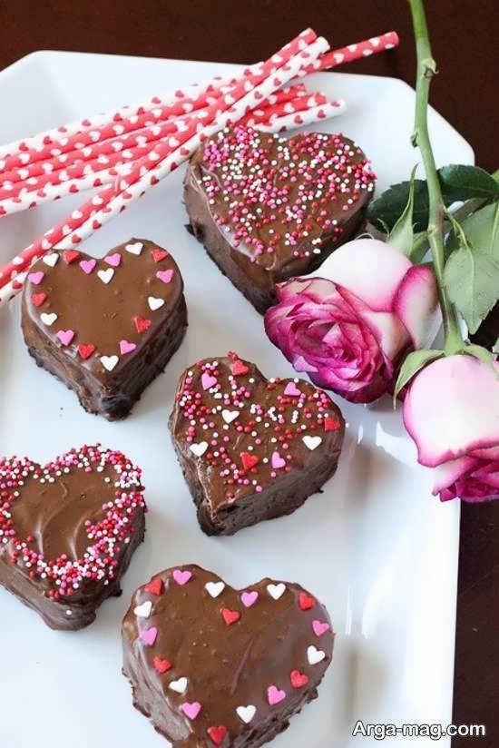 مجموعه ای دوست داشتنی از تزیینات شکلات