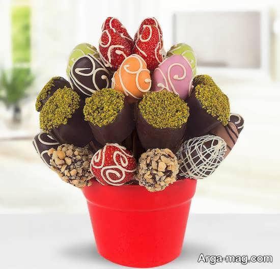 انواع ایده های خارق العاده و احساسی تزیین شکلات
