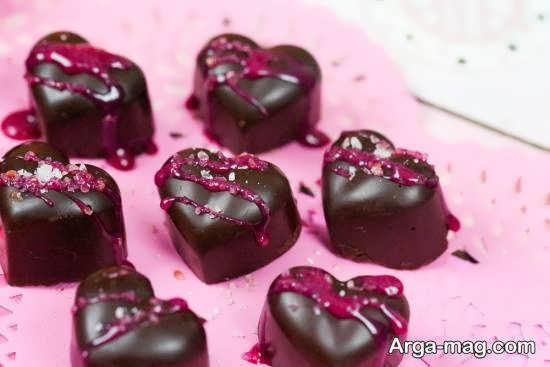 زیباسازی و طراحی انواع شکلات