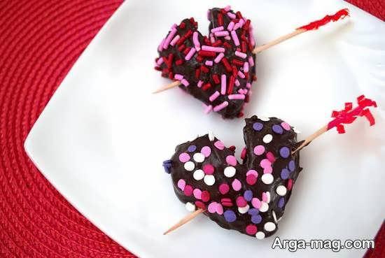تزیین شکلات به شکل های متفاوت و زیبا برای روز عشق