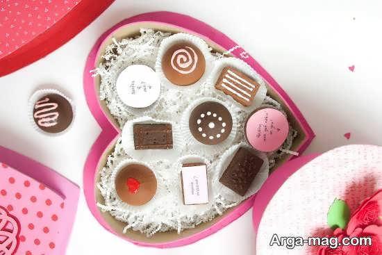 نمونه های زیبا و جذاب تزیینات شکلات