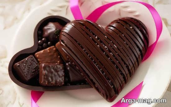 مجموعه ای ایده آل و دوست داشتنی از تزیین شکلات