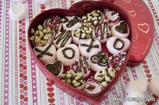 ایده های ناب و نفیس تزیینات شکلات