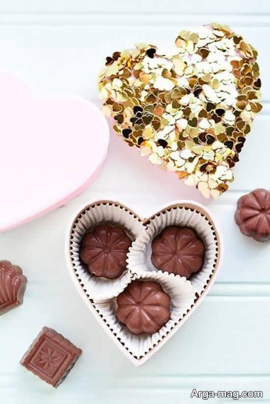 دیزاین و طراحی زیبای شکلات