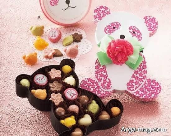 مجموعه ای منحصر به فرد و زیبا از تزیینات شکلات