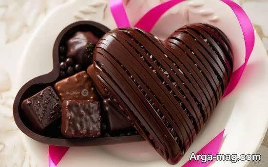 نمونه های جذاب و زیبا برای دیزاین شکلات