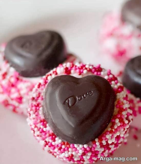 دیزاین شکلات های مختلف برای روز ولنتاین