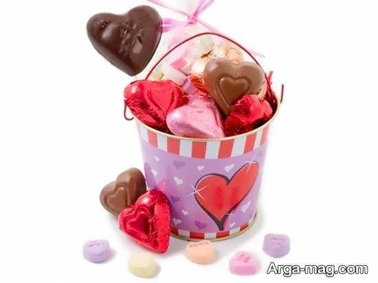 ایده های زیبا و جذاب تزیینات شکلات