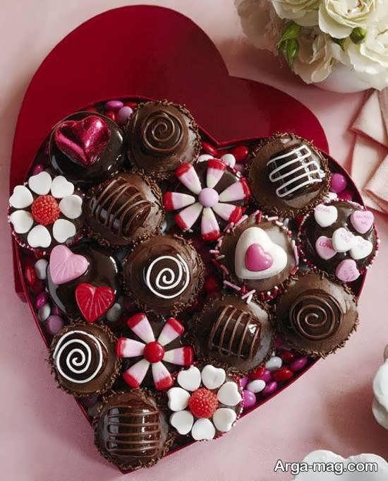 ایده های زیبا و شیک تزیینات شکلات
