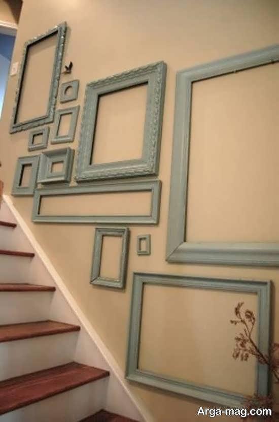 گالری ایده آلی از ایده های تزیین دیوار با قاب خالی