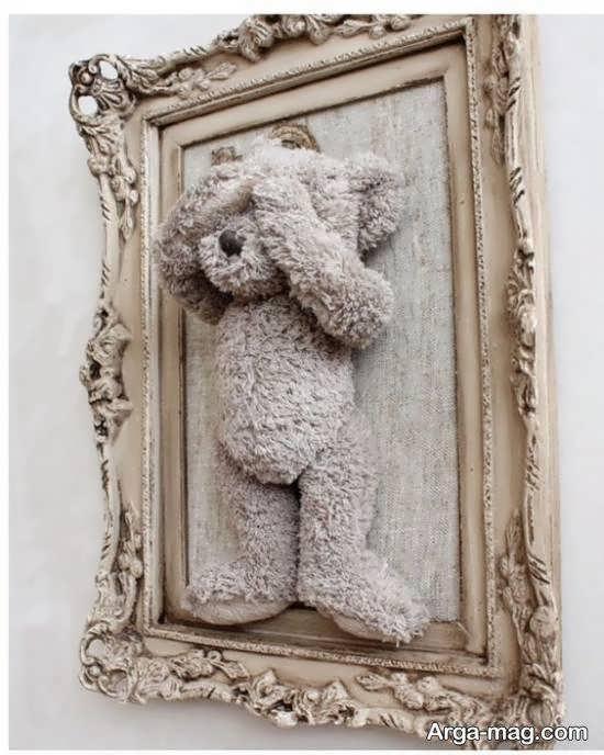 گالری لوکس و زیبایی از تزیین دیوار با قاب خالی