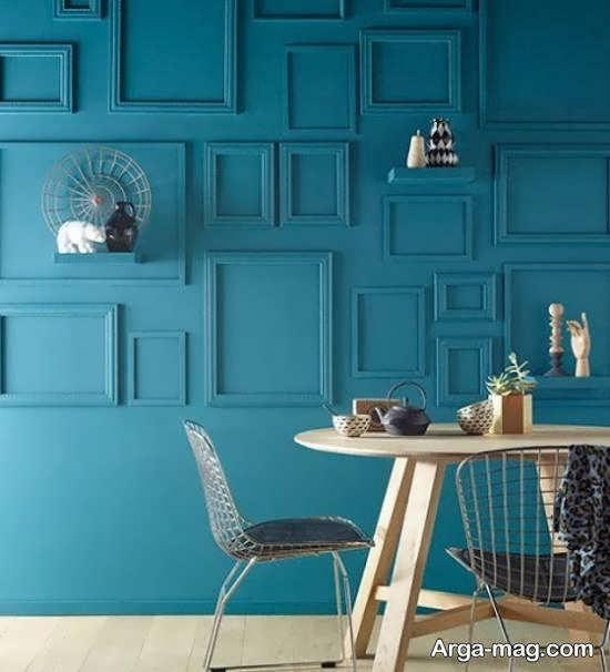 تزیینات خاص و خلاقانه دیوار با قاب خالی