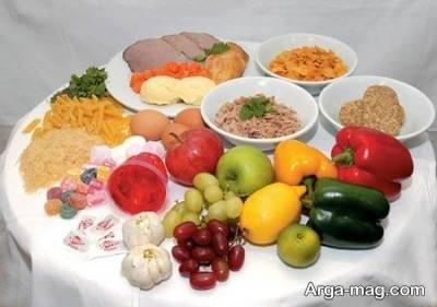 استفاده از رژیم غذایی مناسب برای کاهش کراتین